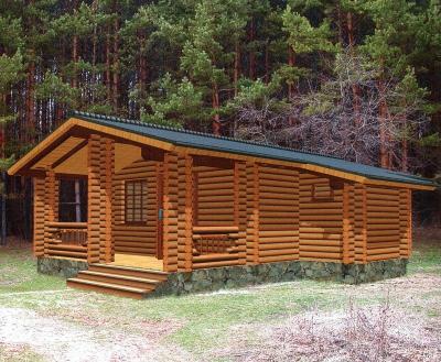 Проект дома из бревна ДБ-89